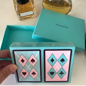 Tiffany &Co.2 deck playing cards - BRAND NEW!!!